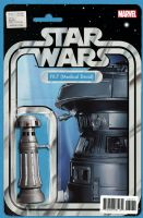 Star Wars #32 - Christopher Action Figure (FX-7 Medical Droid) Variant Cover